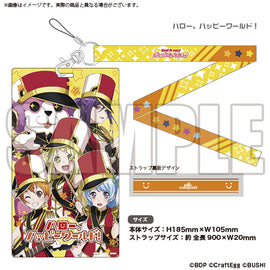 [BanG Dream! Girl's Band Party!] Ticket Holder Hello, Happy World! - Character Goods