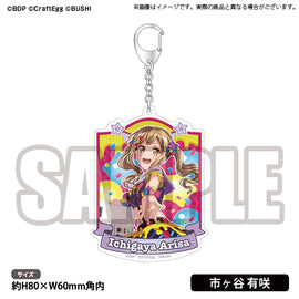 [BanG Dream! Girl's Band Party!] 5th☆LIVE Acrylic Key Holder Poppin'Party Ichigaya Arisa - Character Goods