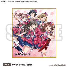 [BanG Dream!] Shikishi Vol.2 Poppin'Party - Character Goods