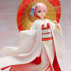 [Re:Zero -Starting Life in Another World-] Ram Shiromuku Ver. - 1/7 Scale Figure