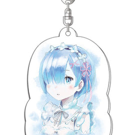[Re:ZERO-Starting Life in Another World] Ani-Art Acrylic Key Holder Rem/Ram - Character Goods