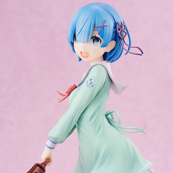[Re:Zero -Starting Life in Another World-] Rem : High School Uniform Ver. - 1/7 Scale Figure