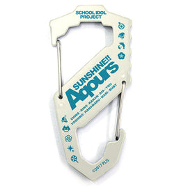 [Love Live! Sunshine!!] Aqours Carabiner S-shaped Type - Character Goods