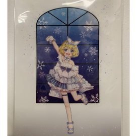 [Snow Miku] Clear File Folder 4. Rin - Clear File