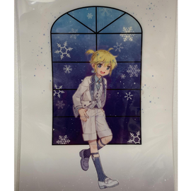 [Snow Miku] Clear File Folder 5. Len - Clear File