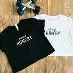 """Always Hungry"" Crop Tee"