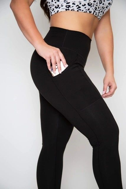 """Black to Basic"" Leggings -- Classic"