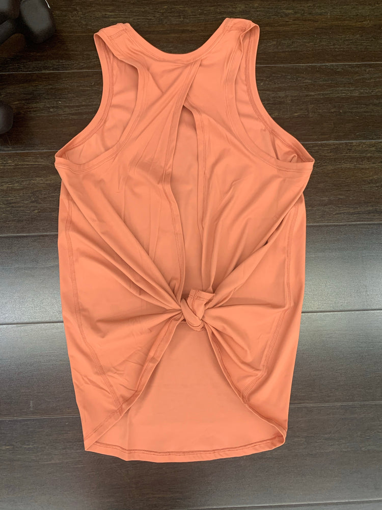 Coral Tie-back Performance tank