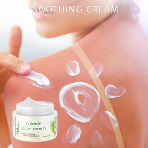 Miracle Aloe Cream - 8oz - Deluvia
