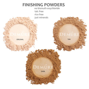 Mineral Finishing Powder - Dark