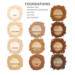 Mineral Foundation - Medium Warm