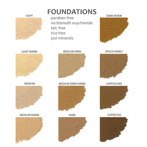Mineral Foundation - Dark Warm