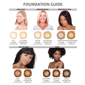 Mineral Foundation - Medium Dark
