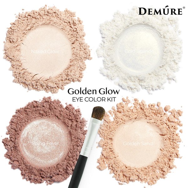 Golden Glow Eye Color Kit - Deluvia