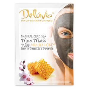 Dead Sea Mask with Manuka Honey - Deluvia
