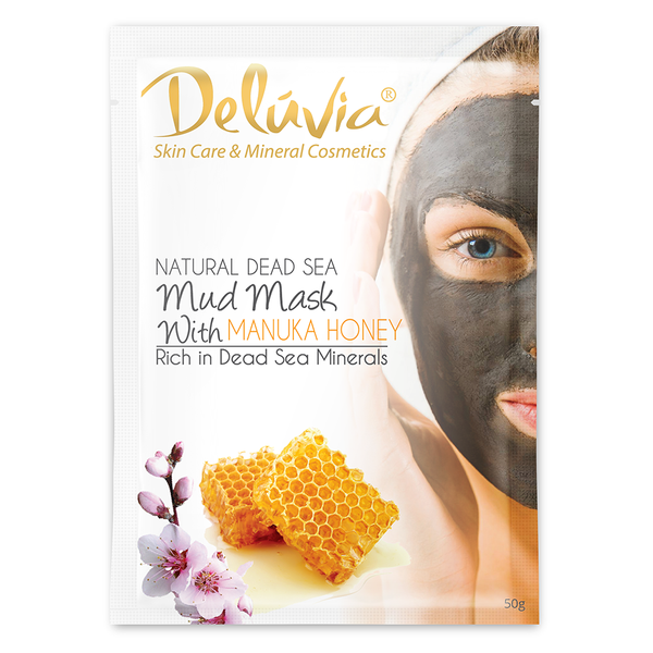 Dead Sea Mask Sachet with Manuka Honey - Deluvia