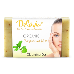 Soap Bar - Peppermint Bliss - Deluvia