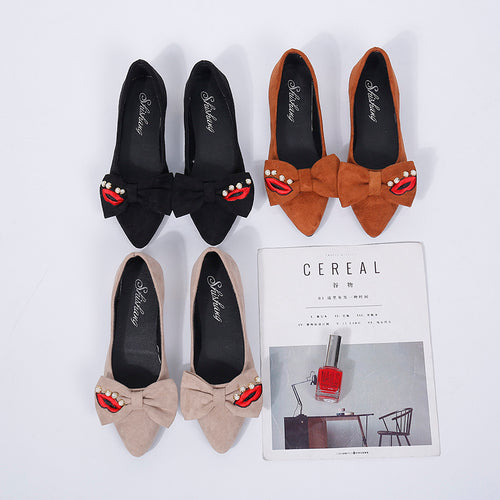 Flat Shoes Casual Women Shoes Comfortable Pointed Toe Flat Shoes