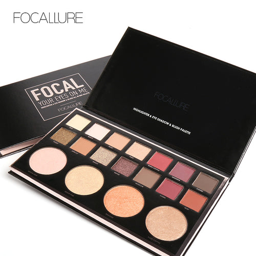 New Face Highlight Makeup Multifunction 18 Colors Earth Eyeshadow Palette Brighten Powder Blusher Make Up Set Highlighter - The Perfect Match