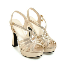 Gladiator Platform Sandals High Heel Shoes - The Perfect Match