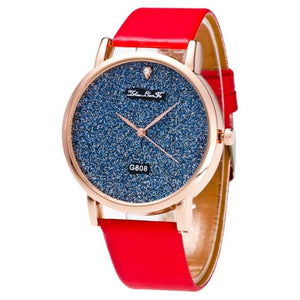 Fashion Leather Dress  Wrist Quartz Watch - The Perfect Match