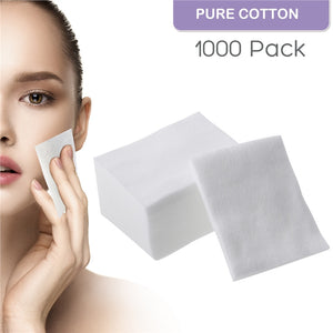 1000pcs Makeup Facial Soft Cotton Pads for Face Make Up Removing - The Perfect Match