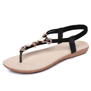 Summer Sandals Gladiator Flats Heel - The Perfect Match