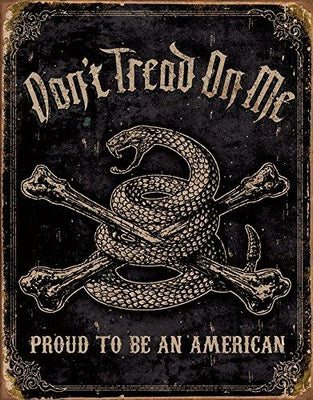 Don't Tread On Me - Proud To Be An American - True Patriot Wear T-shirts