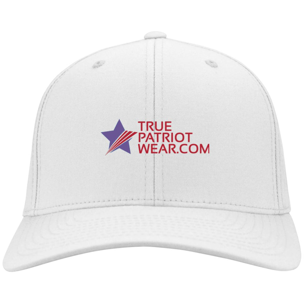 True Patriot Wear Port Authority Flex Fit Twill Baseball Cap