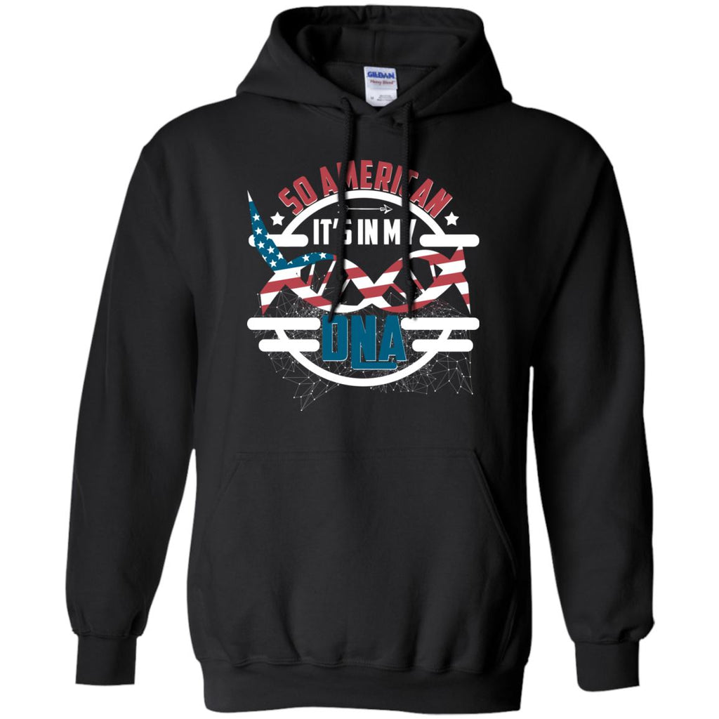 So American It's In My DNA Pullover Hoodie