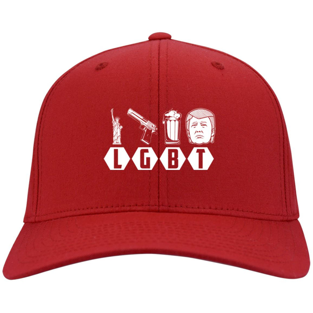 LGBT - Port & Co. Twill Cap