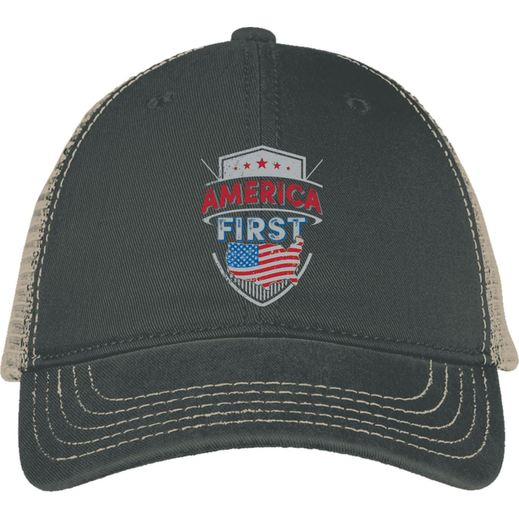 America First - District Mesh Back Cap