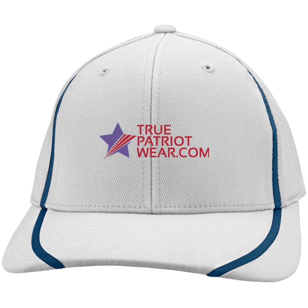 True Patriot Wear Sport-Tek Flexfit Colorblock Cap
