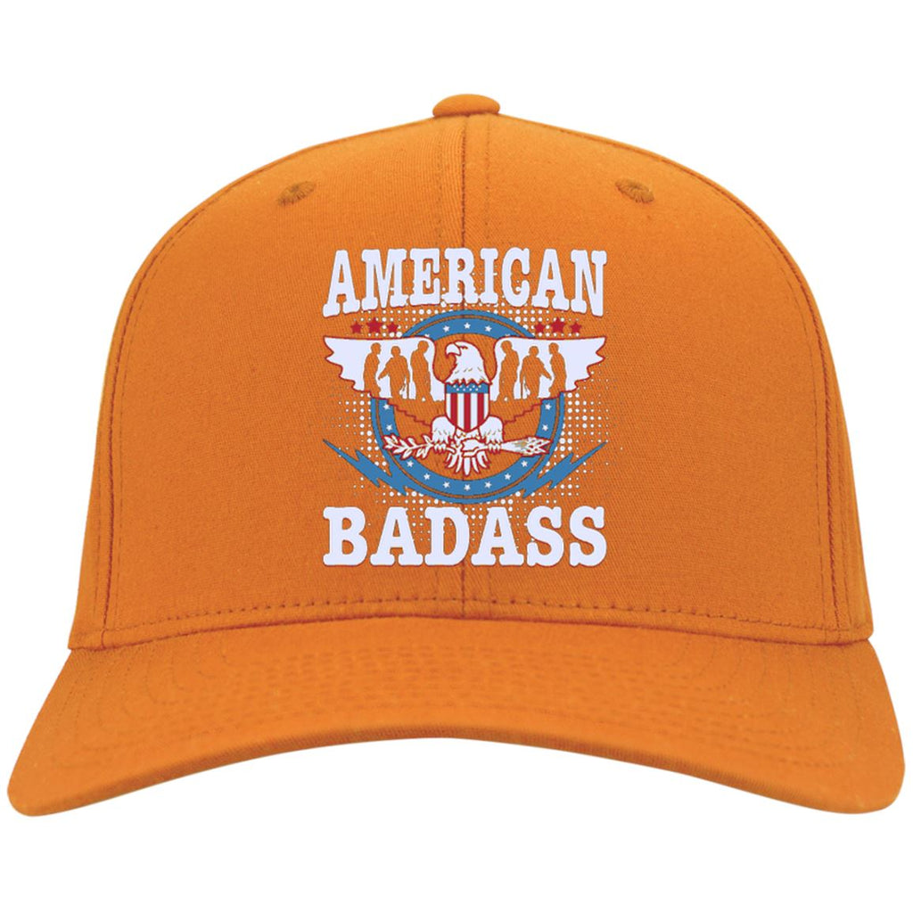 America Badass - Port & Co. Twill Cap