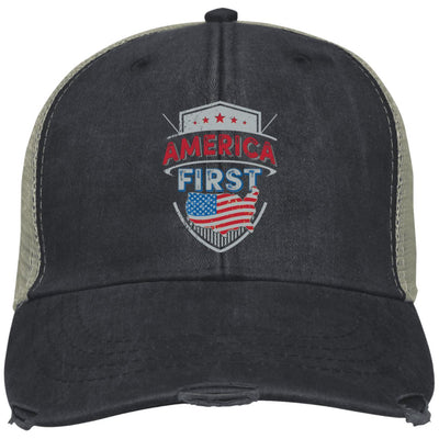 America First - Adams Ollie Cap