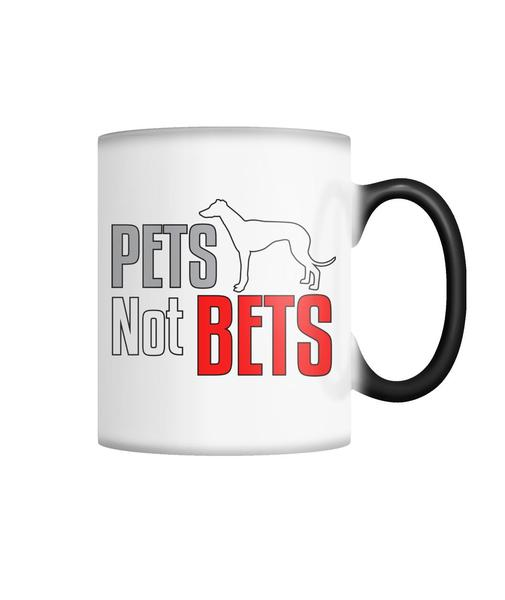 Pets Not Bets Greyhound Anti-Racing Mug Drinkware
