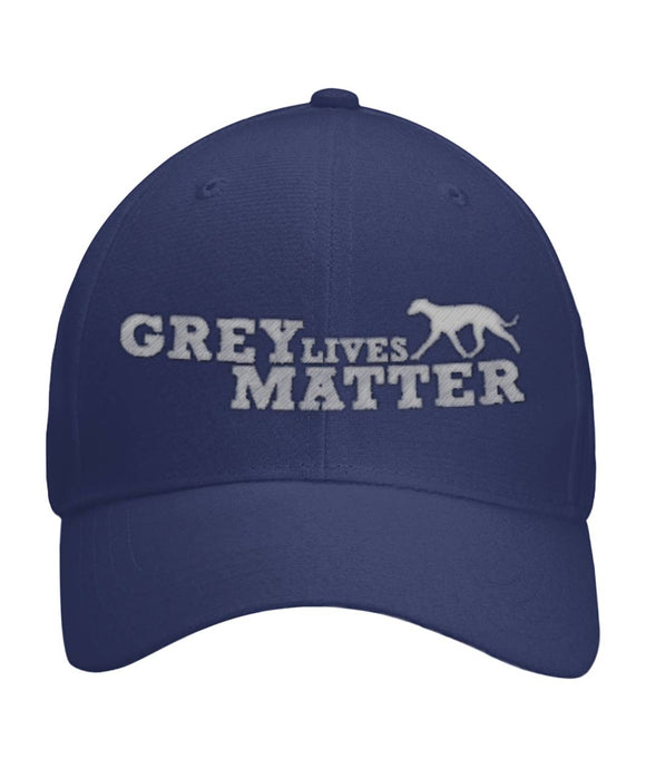 Grey Lives Matter Custom Embroidered Velcro Back Hat - Grey Lives Matter Shop