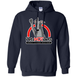Pets Not Bets Red Arch Pullover Hoodie - Grey Lives Matter Shop