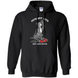 Pets Not Bets Ex-Racer Pullover Hoodie - Grey Lives Matter Shop