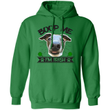 Boop Me I'm Irish Pullover Hoodie 8 oz. St. Patricks day Special BLTXT - Grey Lives Matter Shop