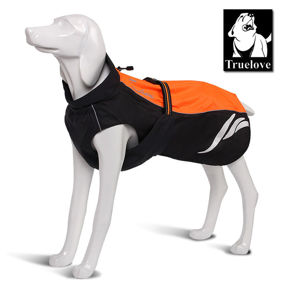 Truelove Waterproof Reflective Stripe Dog Coat All season waterproof dog coat - Grey Lives Matter Shop