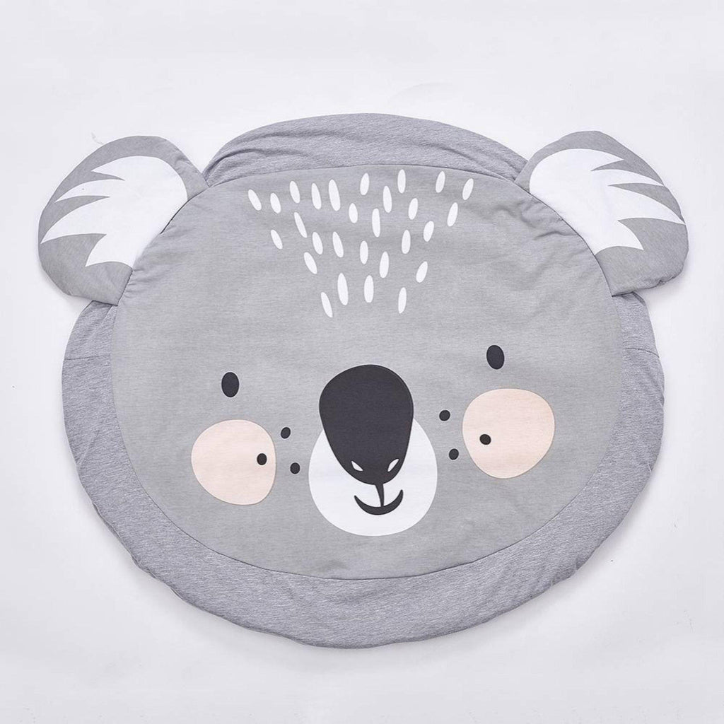 Koala printed baby soft activity play mat rug for baby and children room