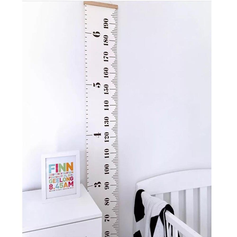 Minimalist Growth Chart Wall Decor