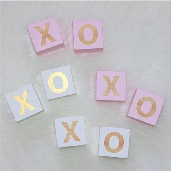 XO Wooden Blocks - Set of 2