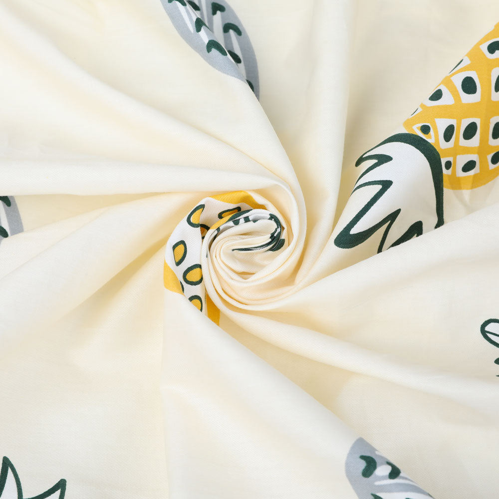 Pina Colada Fitted Crib & Toddler Bed Sheet