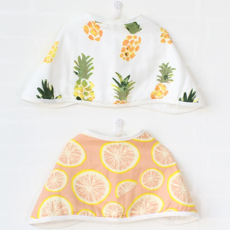 Citrulicious Bib & Burp Cloth (Set of 2)