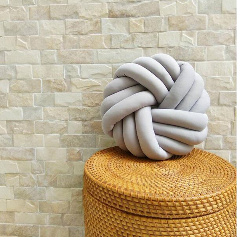Large Knot Pillow (4 colors)