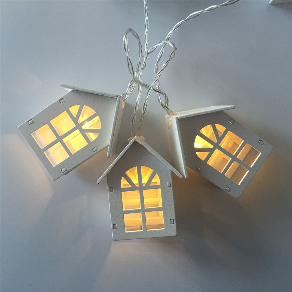 Nordic Houses Light Garland