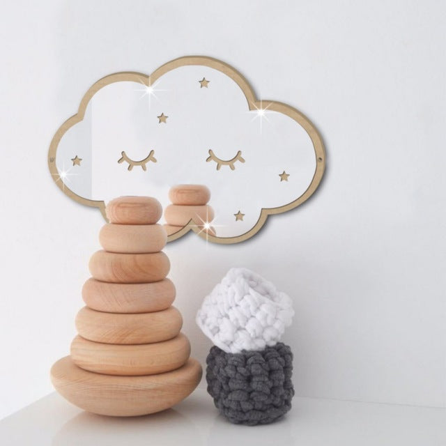 Sleepy Cloud Mirror