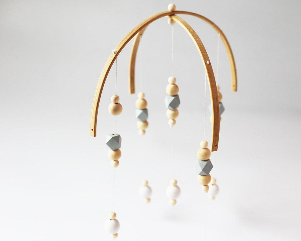 Wooden Beads Mobile (3 Colors)